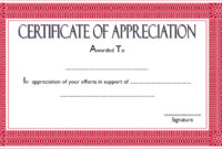10 Editable Certificate Of Appreciation Templates Free Intended For Free Microsoft Office Certificate Templates Free