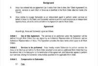 10 Vendor Noncompete Agreement Templates Free Sample Inside Business Templates Noncompete Agreement