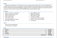 14 Free Construction Proposal Templates In Ms Word Templates With Regard To Free Construction Business Plan Template