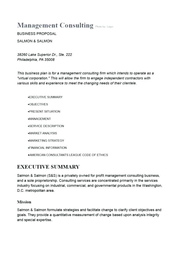 1415 Sample Consultant Proposal Southbeachcafesf For Printable Consultant Proposal Template