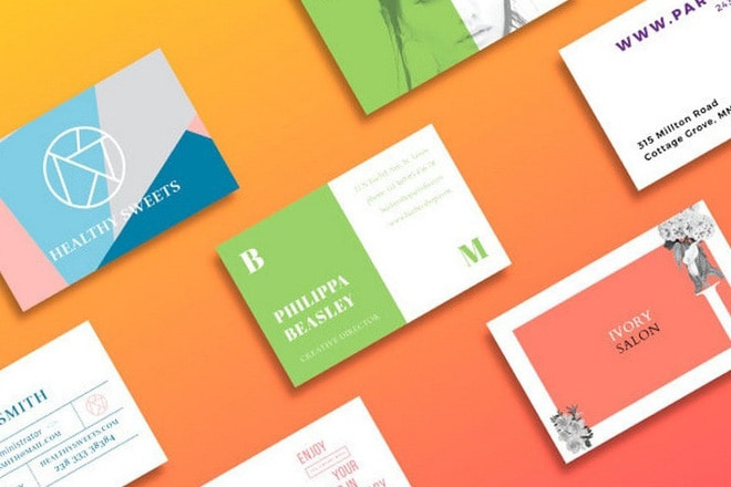 20 Best Free Business Card Templates Fully Printable Within Free Template Business Cards To Print