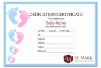 20 Free Editable Baby Dedication Certificates Within Baby Dedication Certificate Templates