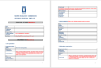 21 Free Research Proposal Templates In Ms Word Templates Throughout Research Proposal Outline Template