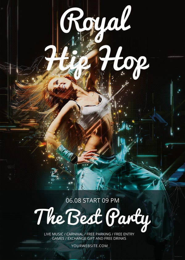 23 Hip Hop Flyer Templates Word Psd Publisher Free With Hip Hop Certificate Templates