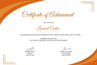 28 Professional Certificate Templates Doc Pdf Free Intended For Printable Professional Award Certificate Template