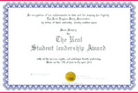 3 Honor Student Certificate Template 88069 Fabtemplatez Within Outstanding Student Leadership Certificate Template Free