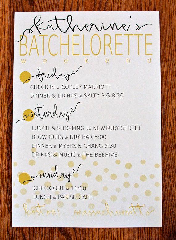 30 Bachelorette Party Agenda Template Template Library In Printable Bachelorette Party Agenda Template