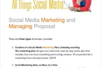 37 Proposal Templates In Pdf Free Premium Templates With Regard To Amazing Social Media Proposal Template