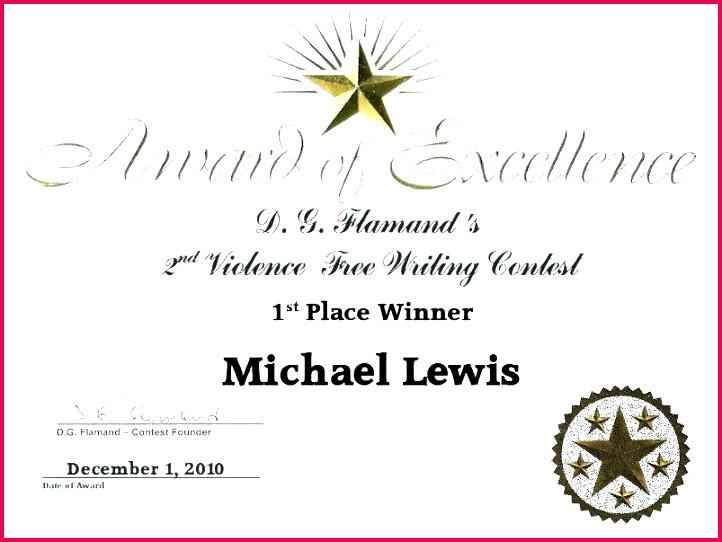 4 First Place Winner Certificate Templates 91928 Throughout Best First Place Certificate Template