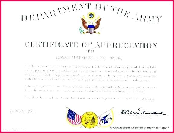 4 Military Certificate Of Appreciation Template 63725 Intended For Army Certificate Of Appreciation Template