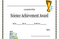 40 Sample Award Certificates Word Psd Ai Eps Vector Inside Science Award Certificate Templates