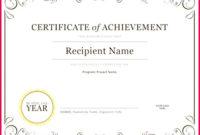 5 Fun Student Certificate Templates 95177 Fabtemplatez For Amazing Student Council Certificate Template