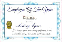 5 Outstanding Employee Certificate Templates 91591 Inside Quality Best Employee Certificate Template