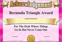 50 Most Likely To Awards Template Ufreeonline Template Intended For Most Likely To Certificate Template Free