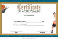 7 Basketball Achievement Certificate Editable Templates For Best Free Teamwork Certificate Templates 10 Team Awards