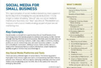 8 Social Media Plan Templates Pdf Word Apple Pages In Social Media Proposal Template