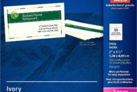 Avery Labels 5436 Template Williamsonga With Business Card Template Open Office