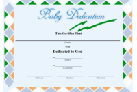 Baby Dedication Certificate Template Download Printable Intended For Amazing Free Printable Baby Dedication Certificate Templates