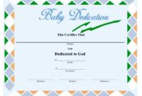 Baby Dedication Certificate Template Download Printable Throughout Baby Dedication Certificate Templates