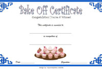 Bake Off Certificate Template 7 Best Ideas For Amazing Baptism Certificate Template Word 9 Fresh Ideas