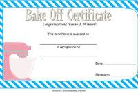 Bake Off Certificate Template 7 Best Ideas Inside Baptism Certificate Template Word 9 Fresh Ideas