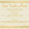 Best Teacher Award Certificate Stars 1240 Doc Formats For Best Costume Certificate Printable Free 9 Awards