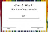 Blank Certificates In Free Printable Blank Award Certificate Templates