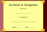 Blank Certificates With Regard To Best Blank Certificate Templates Free Download
