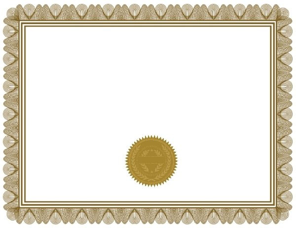 Certificate Blank Certificates Templates Free For Free Printable Blank Award Certificate Templates