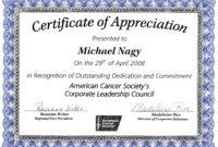 Certificateofappreciationsamplespdfs Regarding Amazing In Appreciation Certificate Templates