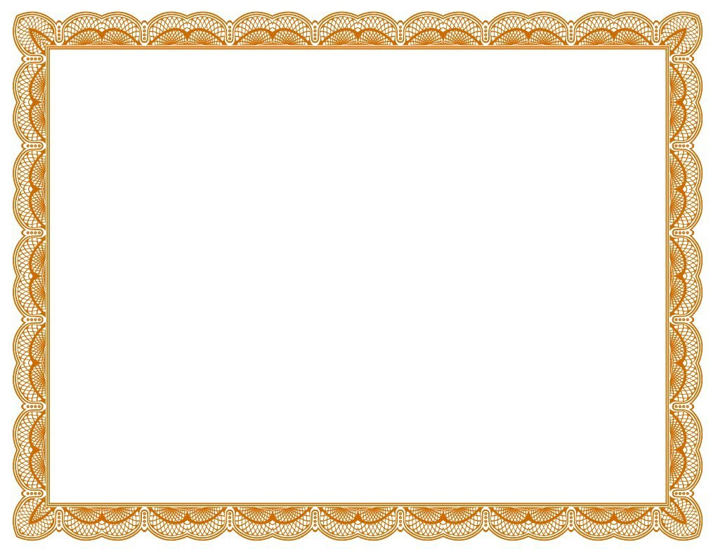 Certificates Borders Free Download Clipart Best In Free Printable Certificate Border Templates