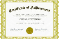 Certificatetemplatesprintableworddocpdf Inside Awesome Free Printable Blank Award Certificate Templates