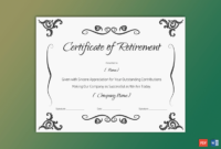 Colorful Clown Happy Birthday Gift Certificate Template For Free Retirement Certificate Templates For Word