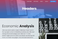 Cool 50 Basic Html Templates For Your Website From 2019 Pertaining To Basic Business Website Template