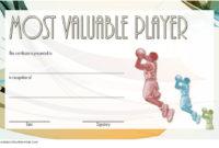Download 10 Basketball Mvp Certificate Editable Templates In Free Basketball Certificate Template Free 13 Designs