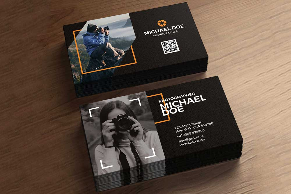 Download This Free Photography Business Card Template Pertaining To Free Business Card Templates For Photographers