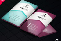 Downloadcreative Business Card Psd Free Psddaddy With Regard To Photoshop Cs6 Business Card Template