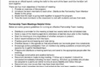 Free 14 Meeting Agenda Samples Templates In Pdf Inside Quality Scout Committee Meeting Agenda Template