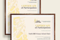Free 25 Sample Participation Certificates In Ai With Pages Certificate Templates