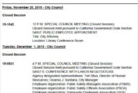 Free 31 Agenda Templates Examples In Pdf Doc Examples Intended For Town Hall Meeting Agenda Template
