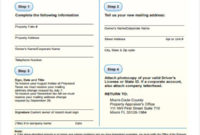 Free 35 Change Forms In Pdf Intended For Business Change Of Address Template