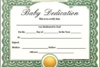 Free Baby Dedication Certificate Download Sample With Regard To Baby Dedication Certificate Templates