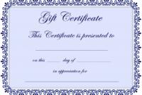 Free Babysitting Gift Coupon Templates Qualads Inside Best Free Printable Babysitting Gift Certificate