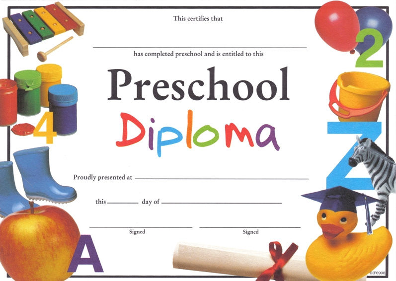 Free Printable Preschool Graduation Certificates Planner With Regard To Awesome 10 Kindergarten Graduation Certificates To Print Free