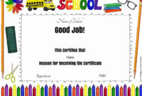 Free School Certificates Awards Throughout Well Done Certificate Template