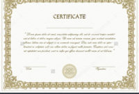 High Resolution Certificate Template Professional Template Within Printable High Resolution Certificate Template