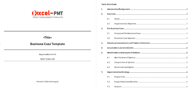 How To Write Business Case Free Template Examples With Regard To Writing Business Cases Template