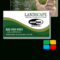 Landscaping Business Cards Templates Service Print Ads In Gardening Business Cards Templates