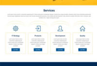 Multi Page Website Templates Free Download Webthemez With One Page Business Website Template
