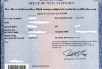 Need A Copy Of Your Ohio Birth Certificate Wecanhelp For Quality Novelty Birth Certificate Template